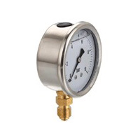 Stainless Steel Case Liquid Filled Gauge