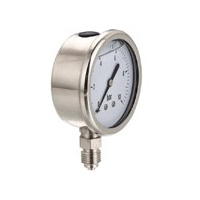 All-stainless steel liquid filled gauge